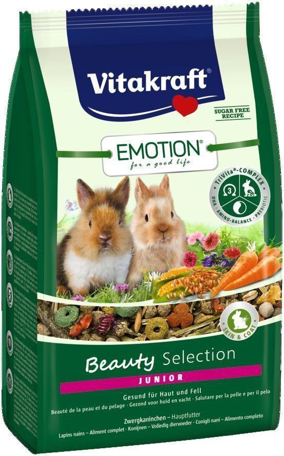 Корм для крольчат Vitakraft Beauty Selection, 600 г400113001Сбалансированный корм для крольчат до 6 месяцев. Содержит пребиотик инулин, все жизненно важные аминокислоты и докозагексаеновую кислоту, важную для функции сердца, головного мозга и иммунной системы. Содержит ценные масла, обеспечивающие красивую и здоровую шерсть. Состав: продукты растительного происхождения, злаки 24,5%, овощи 16,3%, инулин 2%, семена, масла и жиры 0,91%, минералы, васильки 1%, водоросли, экстракт юкки. Анализ состава: 15% клетчатка, 0,8% кальций, 0,3% фосфор, 0,06% ДГК. Пищевые добавки на 1 кг: витамин А 16090 МЕ, витамин Д3 1008 МЕ, селен 0,16 мг, железо 54,1 мг, йод 0,21 мг, медь 5,94 мг, марганец 28,94 мг, цинк 30,76 мг. Товар сертифицирован.