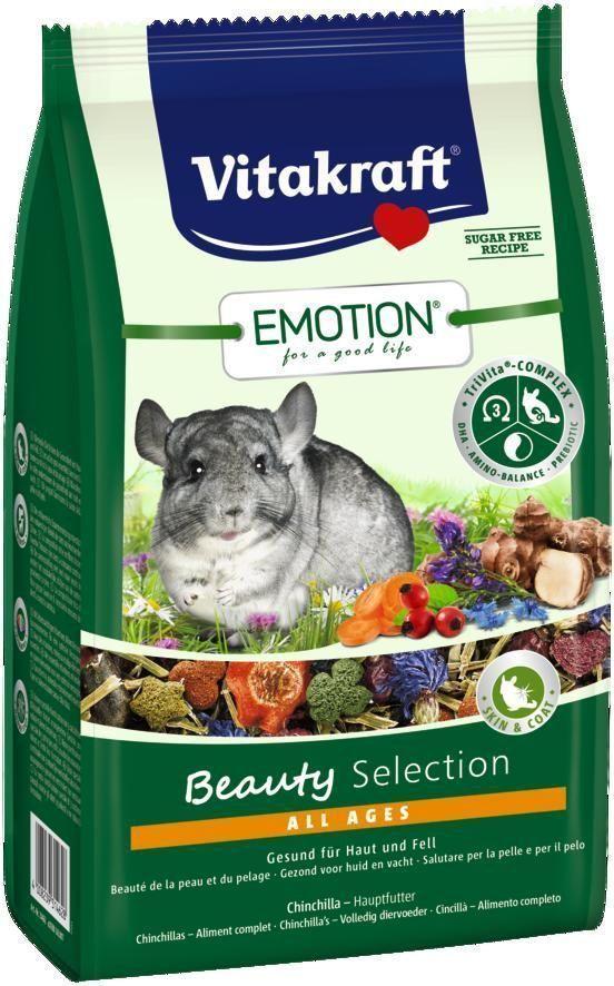 Корм для шиншилл Vitakraft Beauty Selection, 600 г33758Сбалансированный корм для шиншилл всех возрастов. Содержит ценные масла, обеспечивающие красивую и здоровую шерсть, пребиотик инулин все жизненно важные аминокислоты и докозагексаеновую кислоту, важную для функции сердца, головного мозга и иммунной системы. Состав: продукты растительного происхождения, овощи 13,9%, злаки, фрукты 4%, инулин 1,9%, семена, васильки 1%, масла и жиры 0,84%, минералы, водоросли, экстракт юкки. Товар сертифицирован.