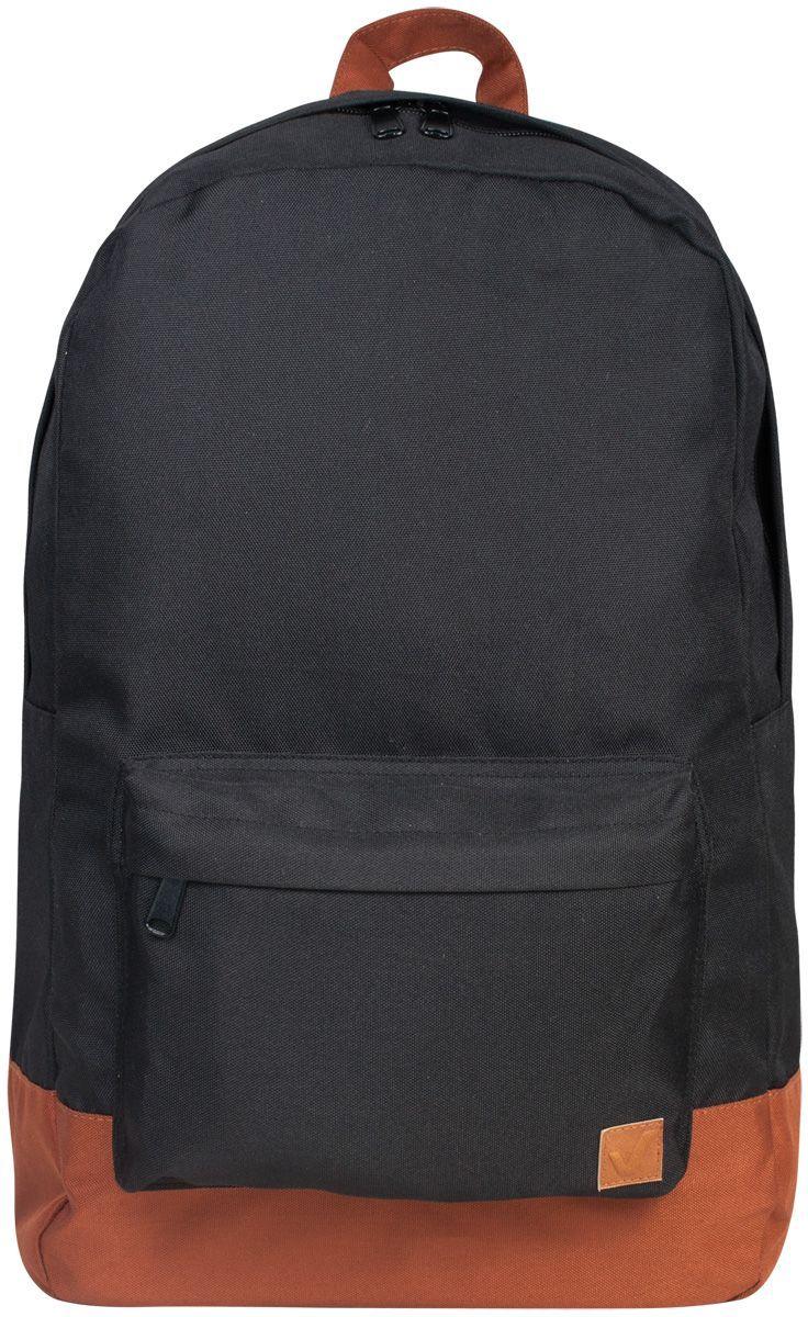 Brauberg Рюкзак Сити-формат цвет черный коричневый72523WDКомпактный и легкий рюкзак с лаконичным дизайном, в котором нет ничего лишнего, имеет вместительное отделение для любых нужд владельца. Идеально подходит для учебы и отдыха.•1 отделение, 1 карман. •Отделение для ноутбука с диагональю 15. •Водоотталкивающая ткань. •Широкие регулируемые лямки. •Размер: 33х26х10 cм. •Цвет - черный с коричневым дном. •Объем: 18 л.