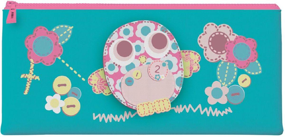 Brauberg Пенал-косметичка Филин72523WDПенал-косметичка предназначен для детей 7-10 лет. Он выполнен в ярких цветах и дополнен необычным принтом.•1 отделение. •Размер: 20х10 см. •Индивидуальная упаковка с европодвесом.