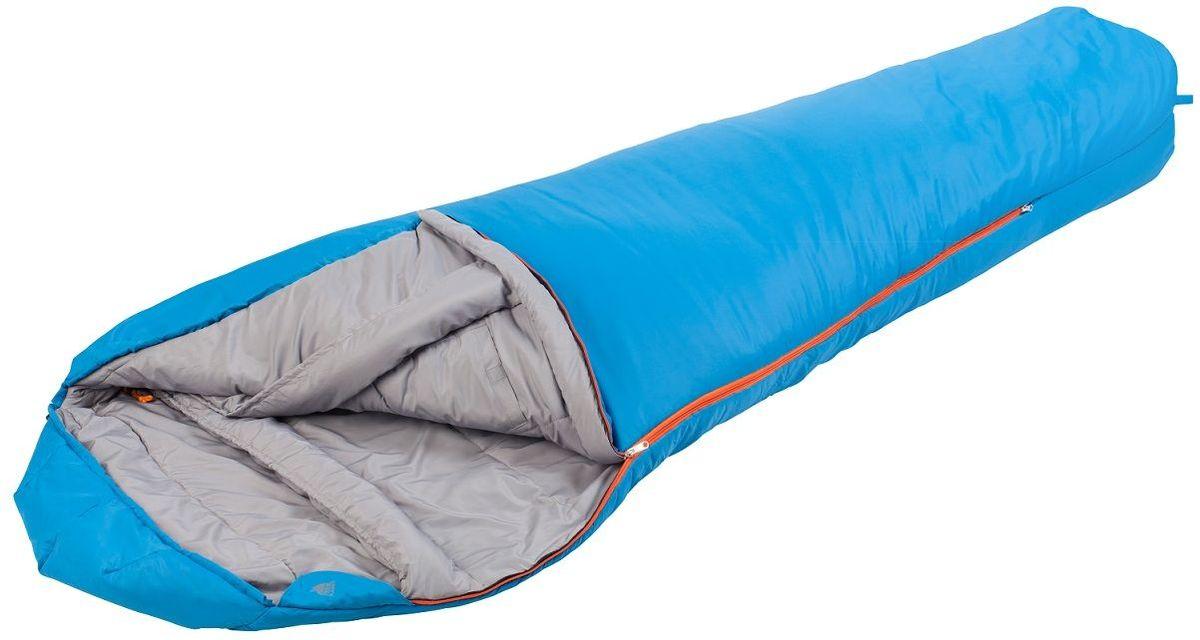 Спальный мешок TREK PLANET Dakar, цвет: синий, правостороняя молния70330-R(синий)Комфортный, легкий и удобный спальник-кокон TREK PLANET Dakar предназначен в основном для летних походов и активного отдыха, но также может быть использован и более холодный весенне-осенний период. Утеплен двумя слоями техничного 4-канального волокна Hollow Fiber. Его преимущества небольшой вес, компактная упаковка и практичность.Данная модель имеет возможность соединения спальников между собой. Для этого вам необходимо приобрести спальник с правой и с левой молнией.Конструкция капюшона и спальника анатомической формы,Удобный глубокий капюшон,4-канальный наполнитель Hollow Fiber,Усиленный полиэстер RipStop,Двухсторонняя молния,Тепловой ворот,Термоклапан вдоль молнии,Внутренний карман,Возможно состегивание спальников между собой,К спальнику прилагается компрессионный чехол из прочного полиэстера для удобного хранения и переноски.