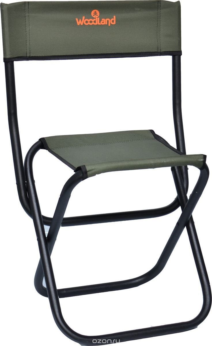 Кресло складное Woodland Tourist, 30 см х 40 см х 70 смперфорационные unisexСкладное кресло Woodland Tourist предназначено для создания комфортных условий в туристических походах, охоте, рыбалке и кемпинге.Особенности:Компактная и усиленная стальная конструкция.Прочный стальной каркас диаметром 22 мм.Водоотталкивающее ПВХ покрытие ткани Oxford 600.