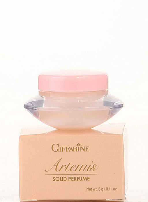 Giffarine Artemis Solid Perfume Сухие духи с природными феромонами Artemis, 3 г217Концентрированная нежность восточного аромата позволит Вам не только всегда чувствовать себя комфортно, но и завораживать окружающих, оставляя тонкий, запоминающийся шлейф. В этот парфюм хочется закутаться, как в теплый жакет или мягкий плед! Он уютен, но вместе с тем не лишен магической притягательности.