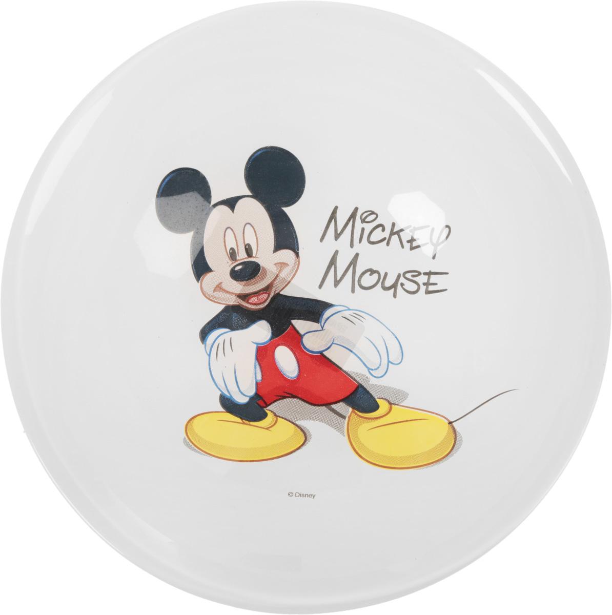 Салатник Luminarc Disney Colors Mickey, диаметр 16,5 см54 009312Салатник Luminarc Disney Colors Mickey, выполненный из ударопрочного стекла, оформлен красочным изображением. Изделие прекрасно подойдет для подачи различных блюд: закусок, салатов или фруктов. Можно мыть в посудомоечной машине.Диаметр (по верхнему краю): 16,5 см.Высота салатника: 5 см.