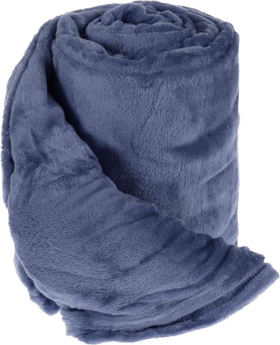 Плед Cleanst, цвет: синий, 200 х 230 смWUB 5647 weisПлед Cleanst выполнен из фланелевого флиса (100% полиэстер). Материал мягкий, нежный и приятный на ощупь, кроме того, он обладает абсорбирующими, антибактериальными и противоскользящими свойствами. Такой плед отлично дополнит интерьер вашей комнаты, в него уютно закутаться в прохладные вечера, он порадует вас легкостью, нежностью и оригинальным дизайном.