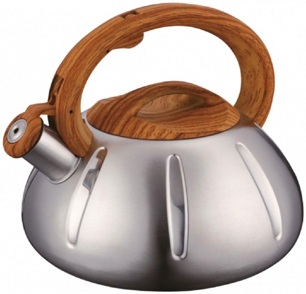 Чайник Elff Decor, со свистком, 3 л115510Чайник подходит для использования на любых источниках тепла, включая индукционные плиты