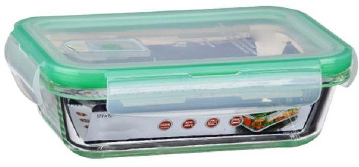 Контейнер для продуктов Elff Decor, цвет: зеленый, 500 мл115510Контейнер для хранения и запекания с вакуумной крышкой Изготовлена из жаропрочного стекла Температурный режим:-40С до 200С Размер: 17,1 х 12 х 4,6 см Объем-0,5 л