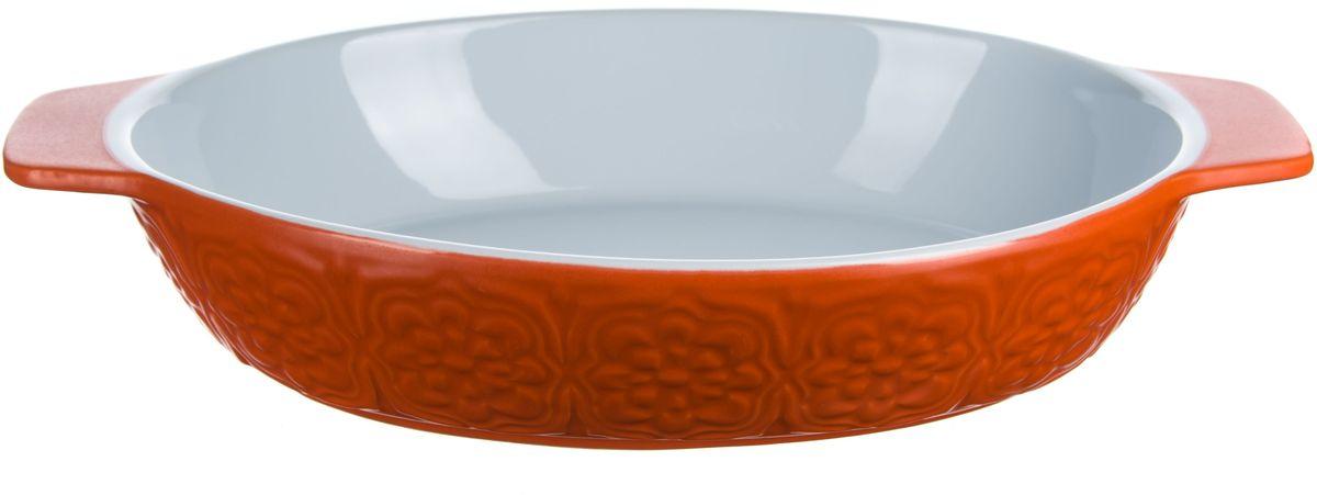 Форма для запекания Elff Decor, овальная, цвет: оранжевый, 1,7 л115510Форма для запекания Изготовлена из жаропрочной керамики Размер: 20,8 см х 27,0 см х 6,3 см Объем-1,7 л.Вес с упаковкой - 1,42кг