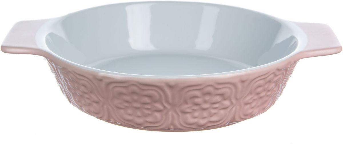 Форма для запекания Elff Decor, овальная, цвет: розовый, 1 л94672Форма для запекания Изготовлена из жаропрочной керамики Размер: 19,7 см х 6,3 см Объем-1,0 л
