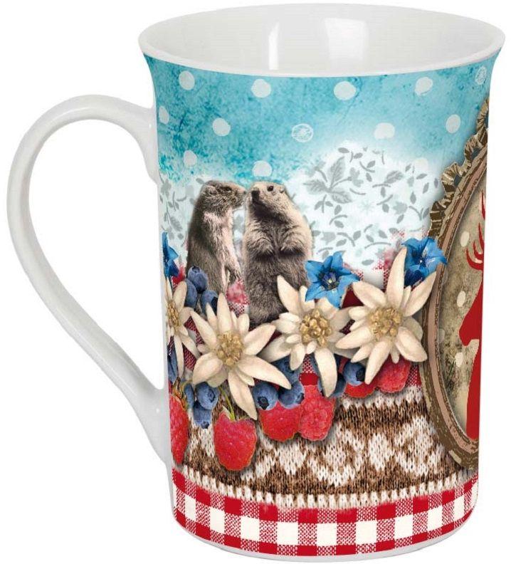 Кружка ORVAL Зимний сад, 270 мл115510Кружка украсит Ваш ежедневный завтрак или чашку чая или кофе Изящное дополнение к своей столовой посуде