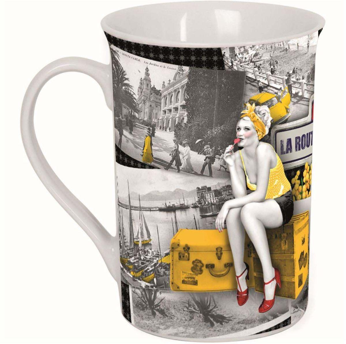 Кружка ORVAL Солнечная дорога, 270 мл115510Кружка украсит Ваш ежедневный завтрак или чашку чая или кофе Изящное дополнение к своей столовой посуде