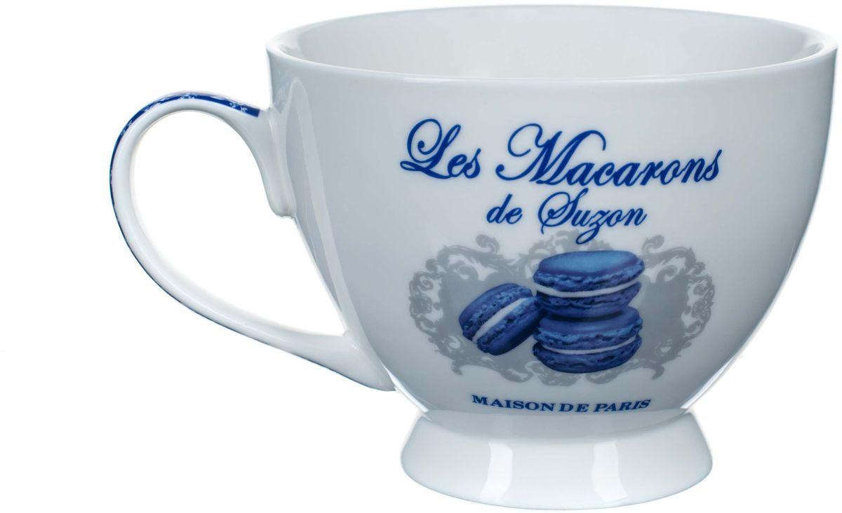 Чашка чайная ORVAL Миндальное печенье Сюзанны, 450 мл115510Изысканная, стильная и утонченная фарфоровая посуда всегда была и будет в цене, а все благодаря своему качеству и оригинальности.