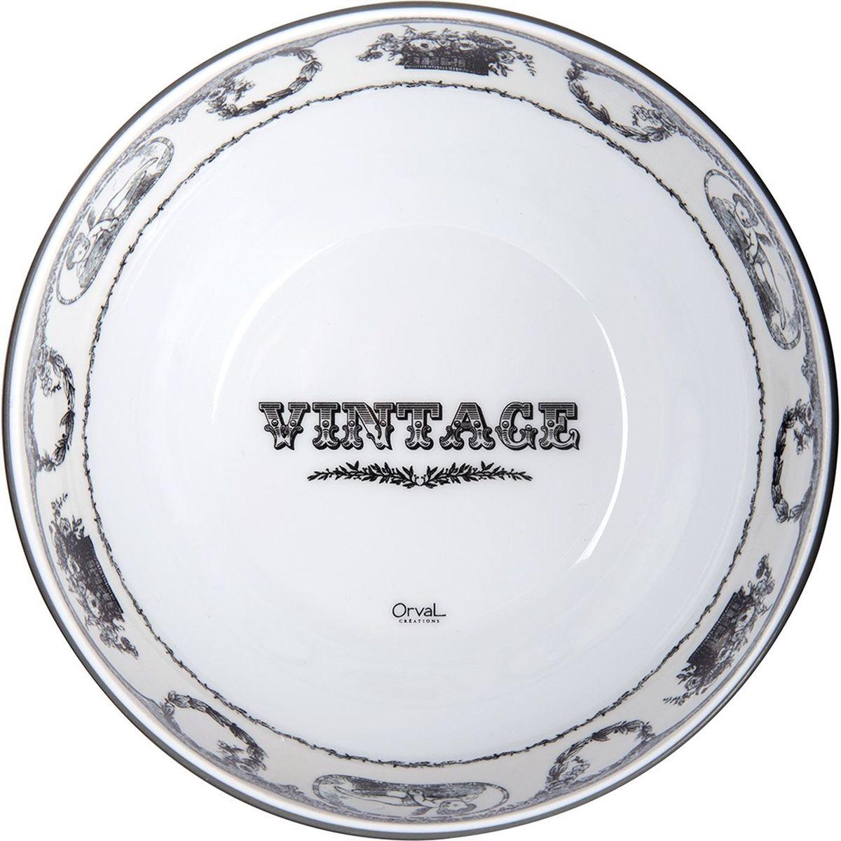 Миска ORVAL Винтаж, диаметр 15,5 см115510Меламиновая посуда от концерна Merxteam - это уникальное сочетание европейского качества, благородного стиля и демократичной стоимости.
