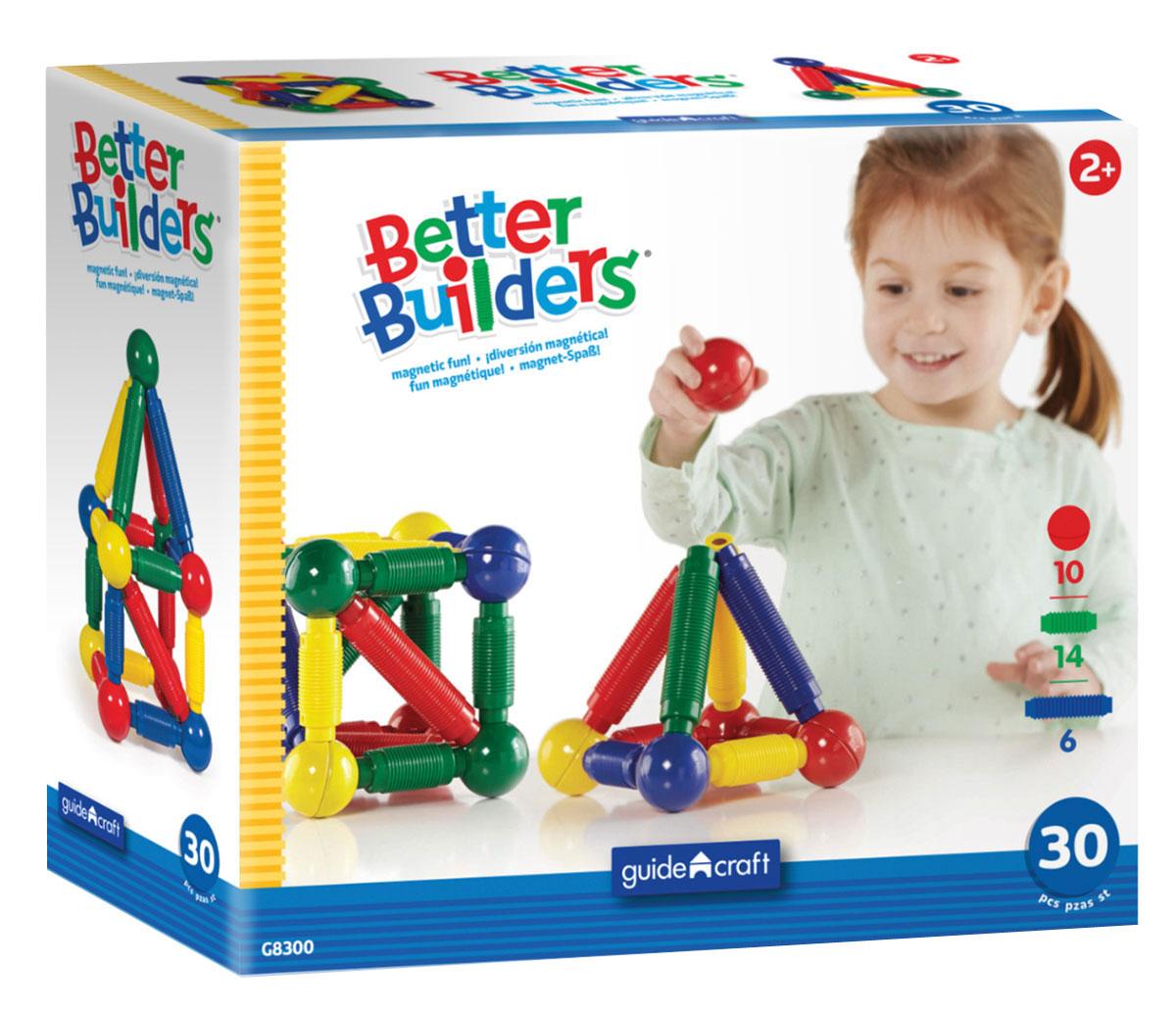 Guide Craft Конструктор Better Builders G8300 guide craft магнитный конструктор better builders career people