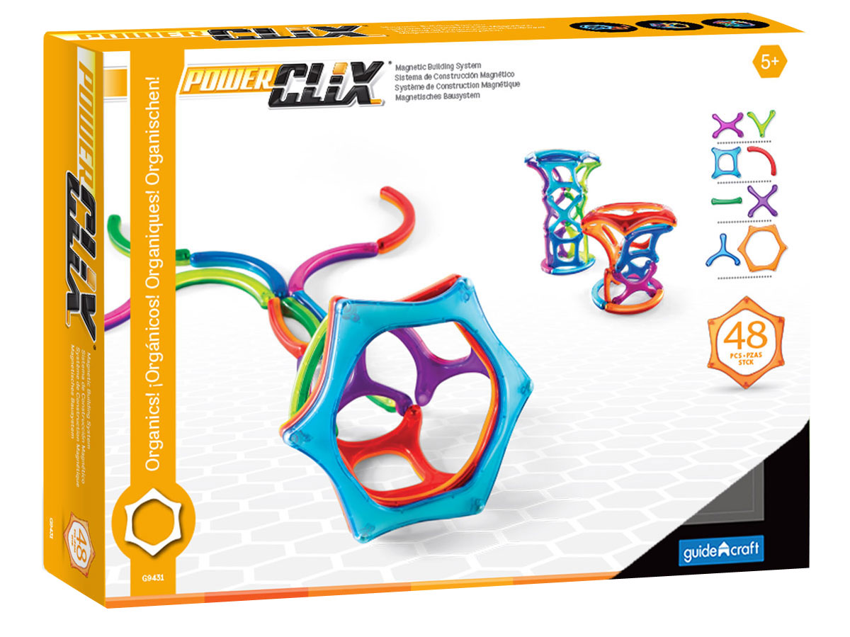Guide Craft Конструктор PowerClix Organics G9431