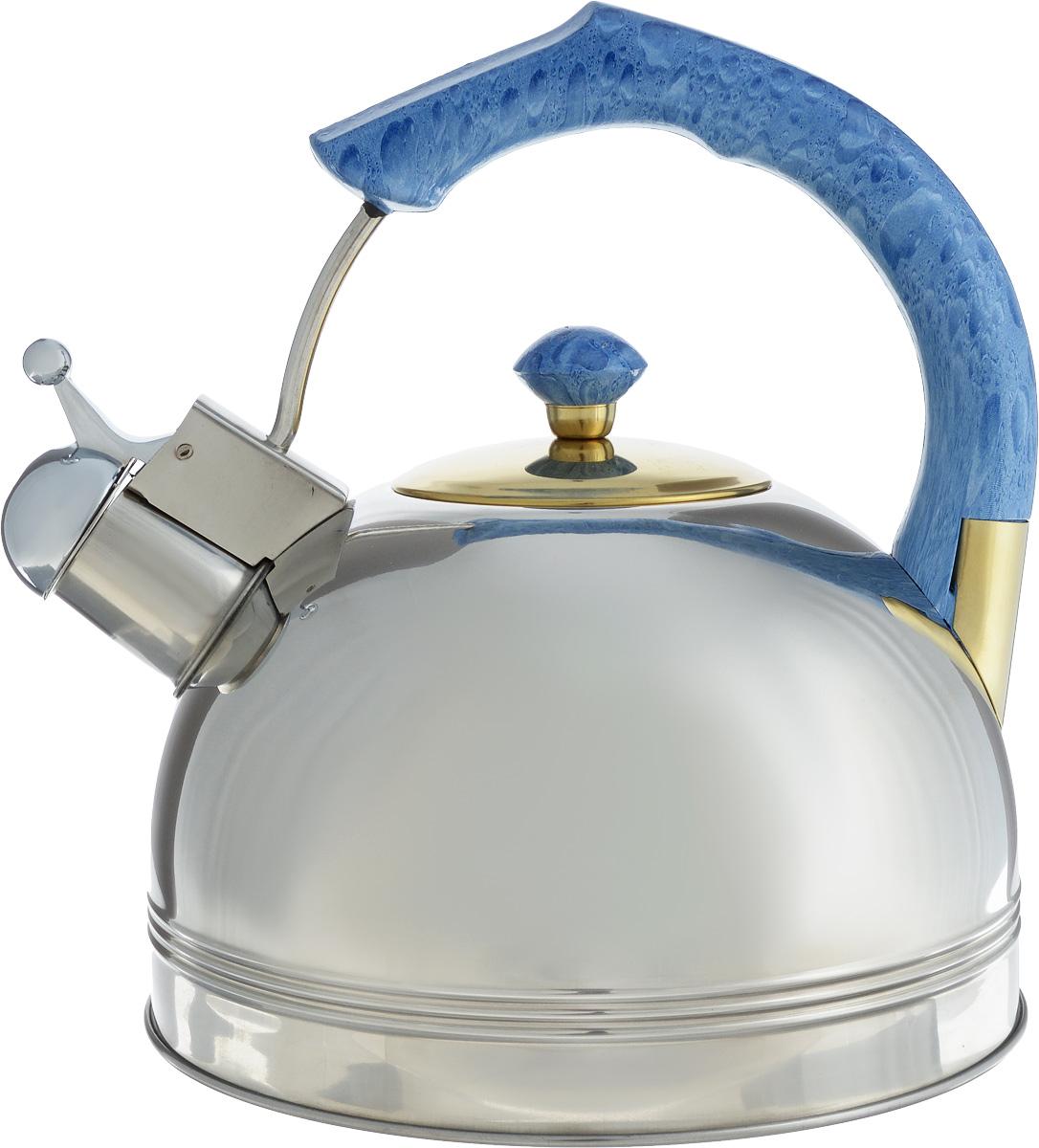 Чайник Bohmann, со свистком, 3 л. BHL-655MRBVT-1520(SR)Чайник Bohmann выполнен из высококачественной нержавеющей стали, что делает его весьма гигиеничным и устойчивым к износу при длительном использовании. Носик чайника оснащен насадкой-свистком, что позволит вам контролировать процесс подогрева или кипячения воды. Чайник снабжен стальной крышкой и эргономичной ручкой с бакелитовой вставкой.Эстетичный и функциональный чайник будет оригинально смотреться в любом интерьере.Подходит для всех типов плит, включая индукционные. Можно мыть в посудомоечной машине. Высота чайника (с учетом ручки и крышки): 23,5 см.Диаметр чайника (по верхнему краю): 8,5 см.Диаметр индукционного дна: 13 см.