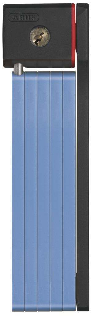 Велозамок Abus Bordo uGrip 5700/80, с ключами, цвет: синий551604_ABUSНадежный сегментный замок Abus Bordo uGrip объединяет лучшие качества U-замков и цепей - надежность и гибкость. Стальные пластины соединены шарнирами и двигаются относительно друг друга. Достаточная длина для крепления к неподвижному объекту, а также нескольких велосипедов между собой.5-мм стальные пластины соединены шарнирами и движутся относительно друг друга.Замок компактно складывается для удобной транспортировки в чехле на раме.Чехол в комплекте.Ккрепление.Вес: 830 г.Длина: 80 см.Толщина: 5 мм.Тип замка: Английский односторонний.Количество ключей в комплекте: 2 шт.