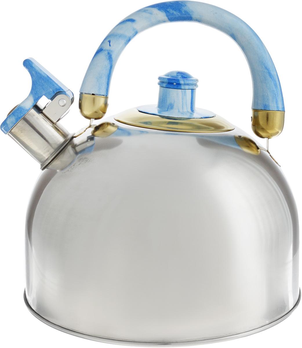 Чайник Bohmann, со свистком, 3,5 л68/5/4Чайник Bohmann изготовлен из нержавеющей стали с зеркальной полировкой. Высококачественная сталь представляет собой материал, из которого в течение нескольких десятилетий во всем мире производятся столовые приборы, кухонные инструменты и различные аксессуары. Этот материал обладает высокой стойкостью к коррозии и кислотам. Прочность, долговечность и надежность этого материала, а также первоклассная обработка обеспечивают практически неограниченный запас прочности и неизменно привлекательный внешний вид. Чайник оснащен удобной ручкой из бакелита. Ручка не нагревается, что предотвращает появление ожогов и обеспечивает безопасность использования. Носик чайника имеет откидной свисток для определения кипения. Можно использовать на всех типах плит, кроме индукционных. Можно мыть в посудомоечной машине. Диаметр (по верхнему краю): 8,5 см.Высота чайника (без учета ручки): 12,5 см.Высота чайника (с учетом ручки): 21 см.Диаметр основания: 15 см.
