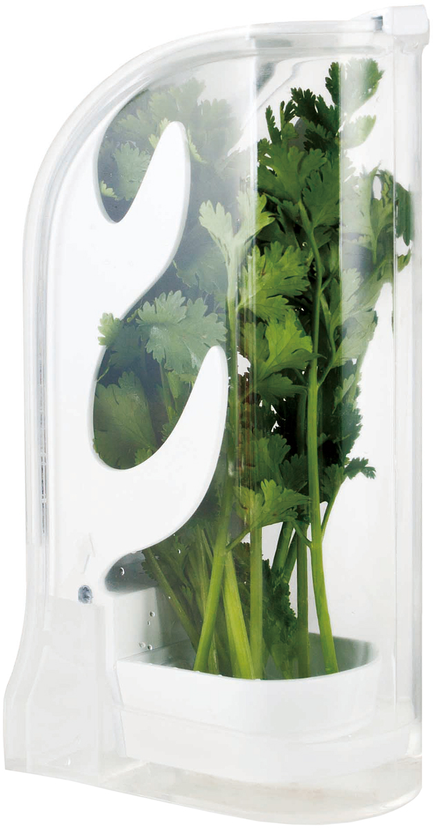 Контейнер для хранения зелени SinoGlass4630003364517Контейнер для хранения зелени SinoGlass изготовлен из качественного ударопрочного и экологически чистого пластика. Контейнер специально предназначен для хранения зелени. Откройте, промойте зелень и контейнер, стряхните лишнюю воду. Поместите травы внутрь, закройте крышкой, выньте пробку и залейте немного свежей воды. Теперь зелень в холодильнике будет храниться до 3 недель! Размеры: 26 х 13 х 8,5 см