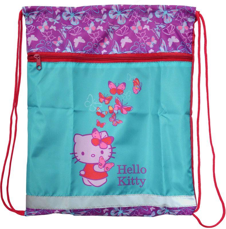 Action! Сумка для сменной обуви Hello Kitty HKO-ASS4301/472523WDНа лицевой стороне большой карман на молнии. Размер 34х43 см