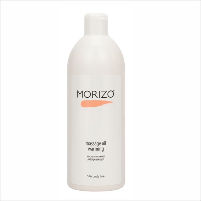 Morizo Масло массажное для тела Разогревающее, 500 млFS-00897Инновационный препарат из тропической ванили усиливает микроциркуляцию и, благодаря включению нейро-сигнального каскада, обеспечивает стойкий и мягкий разогрев в коже. Витамины А, Е, F повышают эластичность кожи, придают ей бархатистость и ухоженный вид. Масло идеально подходит для проведения антицеллюлитного массажа