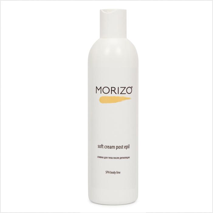 Morizo Сливки для тела после депиляции, 300 мл355508453Сливки устраняют дискомфорт после любого вида депиляции, быстро и деликатно снимают раздражение, покраснение, оказывают успокаивающее действие на участки кожу, подвергавшиеся обработке. За счет наличия в составе масел дерева Ши и жожоба, сливки быстро питают и успокаивают кожу, оказывают выраженный противовоспалительный эффект, нормализуют рН кожи, препятствуют появлению шелушения. Сливки имеют легкую консистенцию, легко наносятся и впитываются, не оставляют жирного блеска.