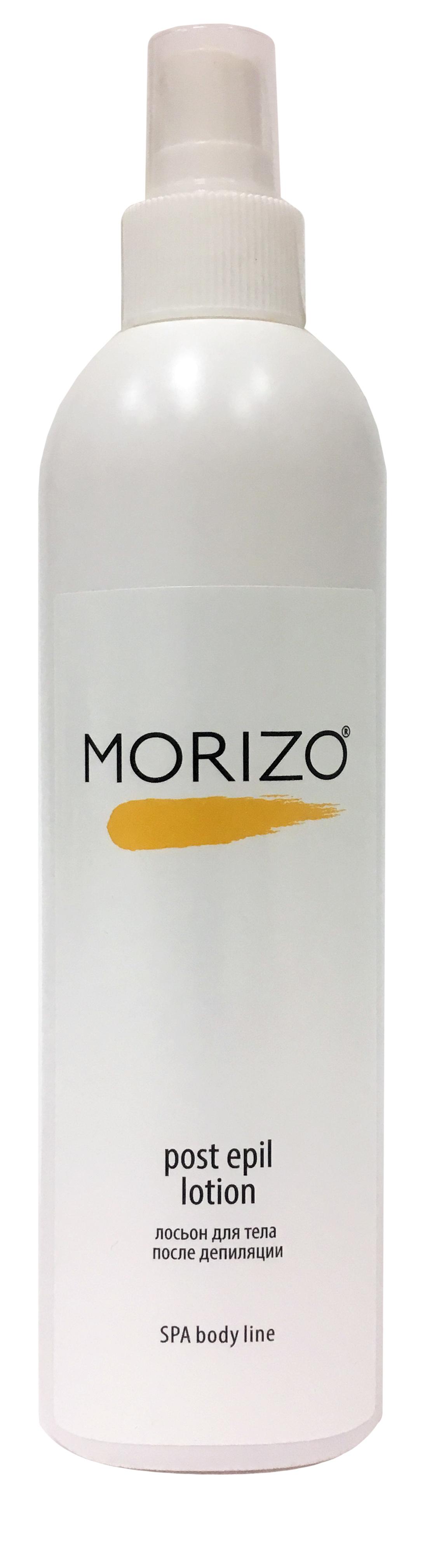 Morizo Лосьон для тела после депиляции, 300 млFS-00897Лосьон для тела с активными натуральными компонентами предназначен для очищения кожи и удаления остатков воска и пасты после депиляции. Экстракт ромашки аптечной и аллантоин, входящие в состав, успокаивают и снимают раздражение, восстанавливают, способствуют ускорению регенерации даже самой чувствительной кожи. Лосьон легко наносится и быстро впитывается благодаря специальному составу и легкой текстуре, дарит ощущение продолжительной гладкости, шелковистости и комфорта.