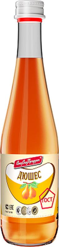 СоюзСладПродукт напиток Дюшес, 0,5 л0120710Произведен по ГОСТ на глюкозно-фруктозном сиропе. Без подсластителей. Имеет яркий привлекательный внешний вид. Стильный винтовой колпак, делает открывание мягким и комфортным.