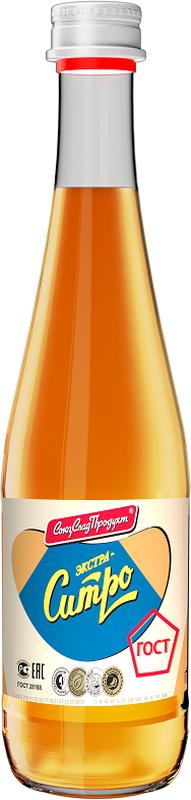 СоюзСладПродукт напиток Экстра-ситро, 0,5 л6025Произведен по ГОСТ на глюкозно-фруктозном сиропе. Без подсластителей. Имеет яркий привлекательный внешний вид. Стильный винтовой колпак, делает открывание мягким и комфортным.