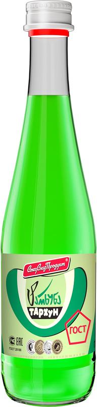 СоюзСладПродукт напиток Тархун, 0,5 л0120710Произведен по ГОСТ. Произведен на глюкозно-фруктозном сиропе. Без подсластителей. Без консервантов. Имеет яркий привлекательный внешний вид. Стильный винтовой колпак, делает открывание мягким и комфортным.