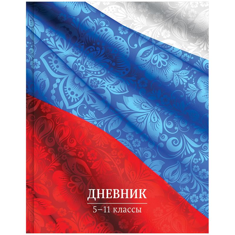 Спейс Дневник школьный Россия для 5-11 классов спейс дневник школьный рисунки мелом для 5 11 классов