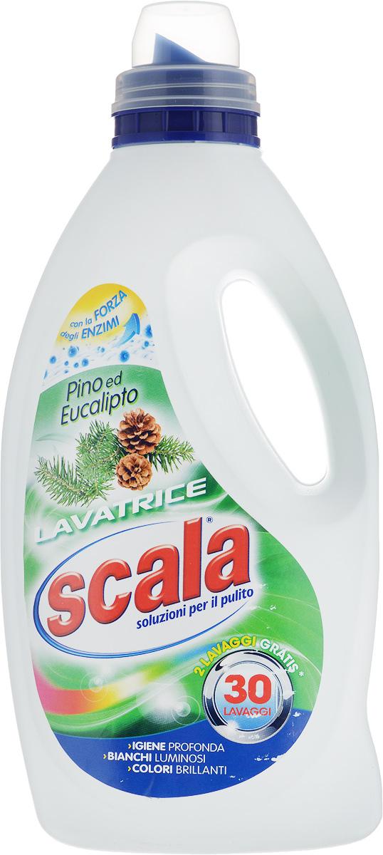 Гель для стирки белья SCALA Сосна и эвкалипт, 1,5 л100-49000000-60Гель для стирки белья SCALA Сосна и эвкалипт имеет новую формулу для глубокого очищения тканей и сохранения цвета. Удаляет стойкие пятна даже при низких температурах. Содержит натуральное мыло и эфирные масла. Дарит стойкий аромат свежести и чистоты. Подходит как для ручной, так и для машинной стирки. Товар сертифицирован.