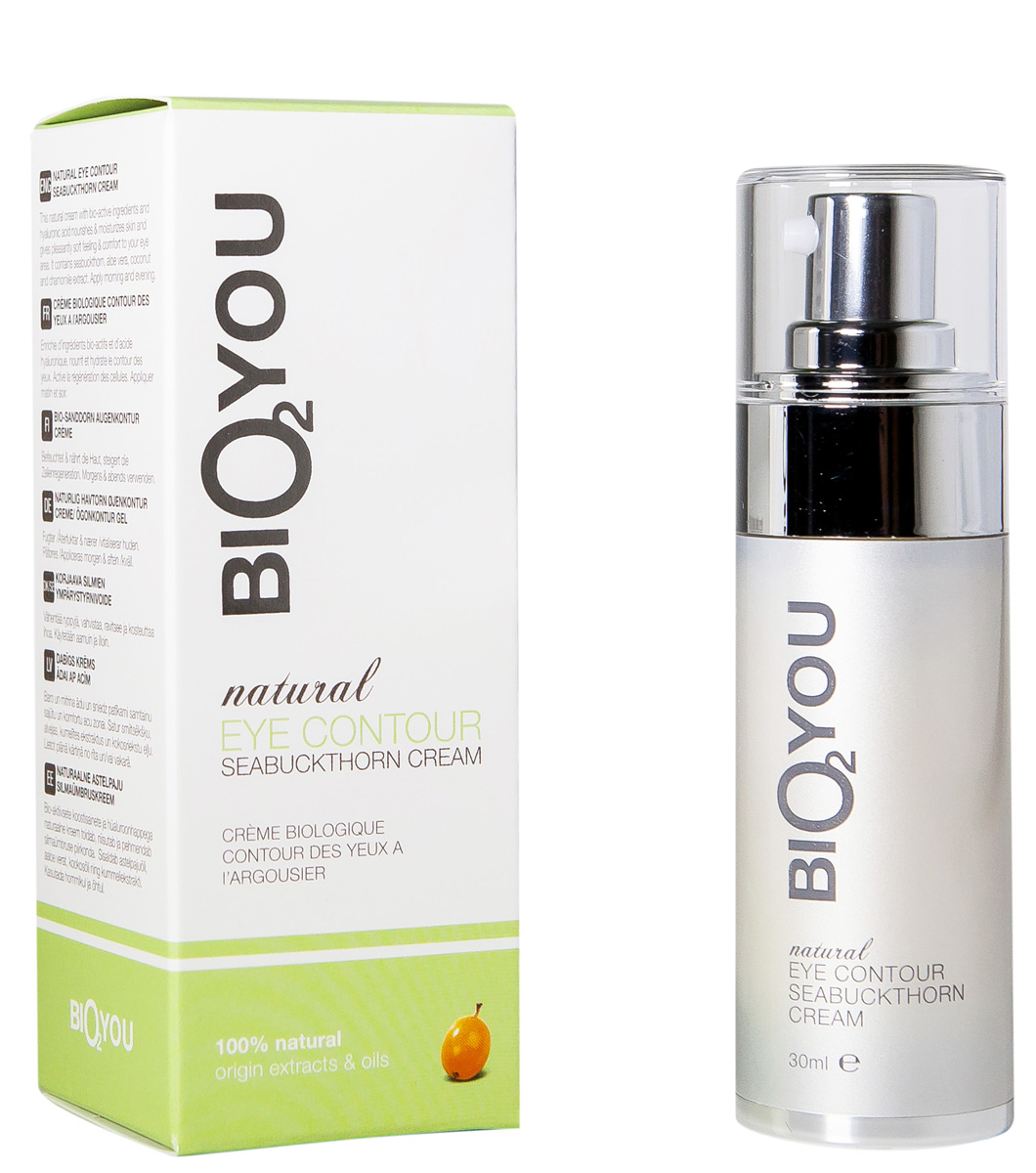 BIO2You Natural Skin Car Натуральный облепиховый крем для области вокруг глаз, 30 мл960084Натуральная формула с биоактивными ингредиентами уменьшает морщинки, укрепляет, питает, увлажняет и придает области вокруг глаз ощущение комфорта.