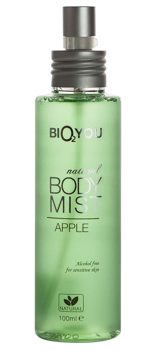 BIO2You Спрей для тела Яблоко, 100 млFS-00897Свежий аромат наполнит вас положительными эмоциями. Hе содержит спирта, и идеально подходит для использования на чувствительной коже.