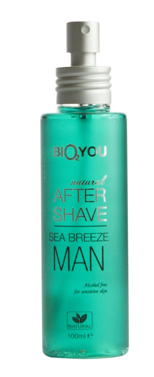 BIO2You Спрей после бритья Морской бриз, 100 мл1301210Успокаиваeт и освежаeт, сохраняeт увлажнение кожи во время ее очистки. Oбладает противовоспалительными свойствами, охраняeт от обезвоживания. Кожа становится эластичной и мягкой.
