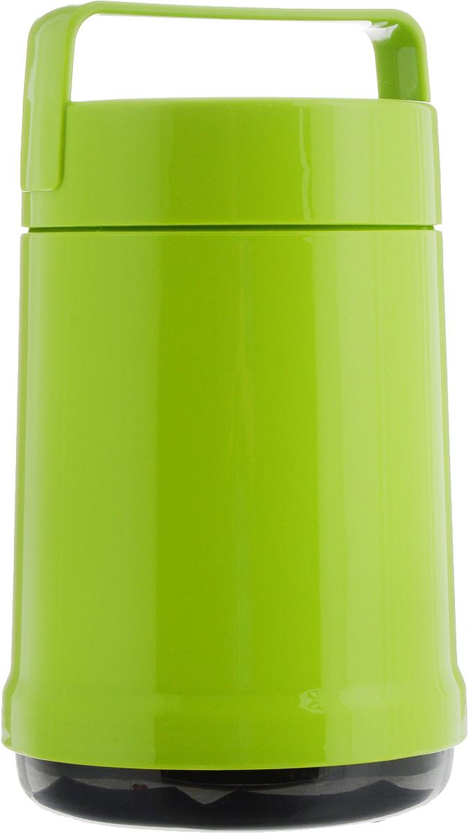 Термос для еды Emsa Rocket, с контейнерами, цвет: зеленый, 1,4 л115510Термос с широким горлом Emsa Rocket, выполненный из прочного пластика, предназначен для хранения еды. Термос имеет стеклянную колбу, благодаря чему температура содержимого сохраняется долгое время. Вакуумная колба на 100% герметична. Термос прост в использовании и очень функционален. В комплекте 2 контейнера, которые можно использовать в качестве мисок для еды. Термос снабжен фиксированной ручкой для переноски. Легкий и прочный термос Emsa Rocket сохранит вашу еду горячей или холодной надолго.Высота (с учетом крышки): 25,5 см.Диаметр горлышка: 12,5 см.Диаметр дна: 14 см.Размер большого контейнера: 12 х 12 х 16,5 см.Размер маленького контейнера: 11 х 10 х 4,4 см.Сохранение холода: 12 ч.Сохранение тепла: 6 ч.