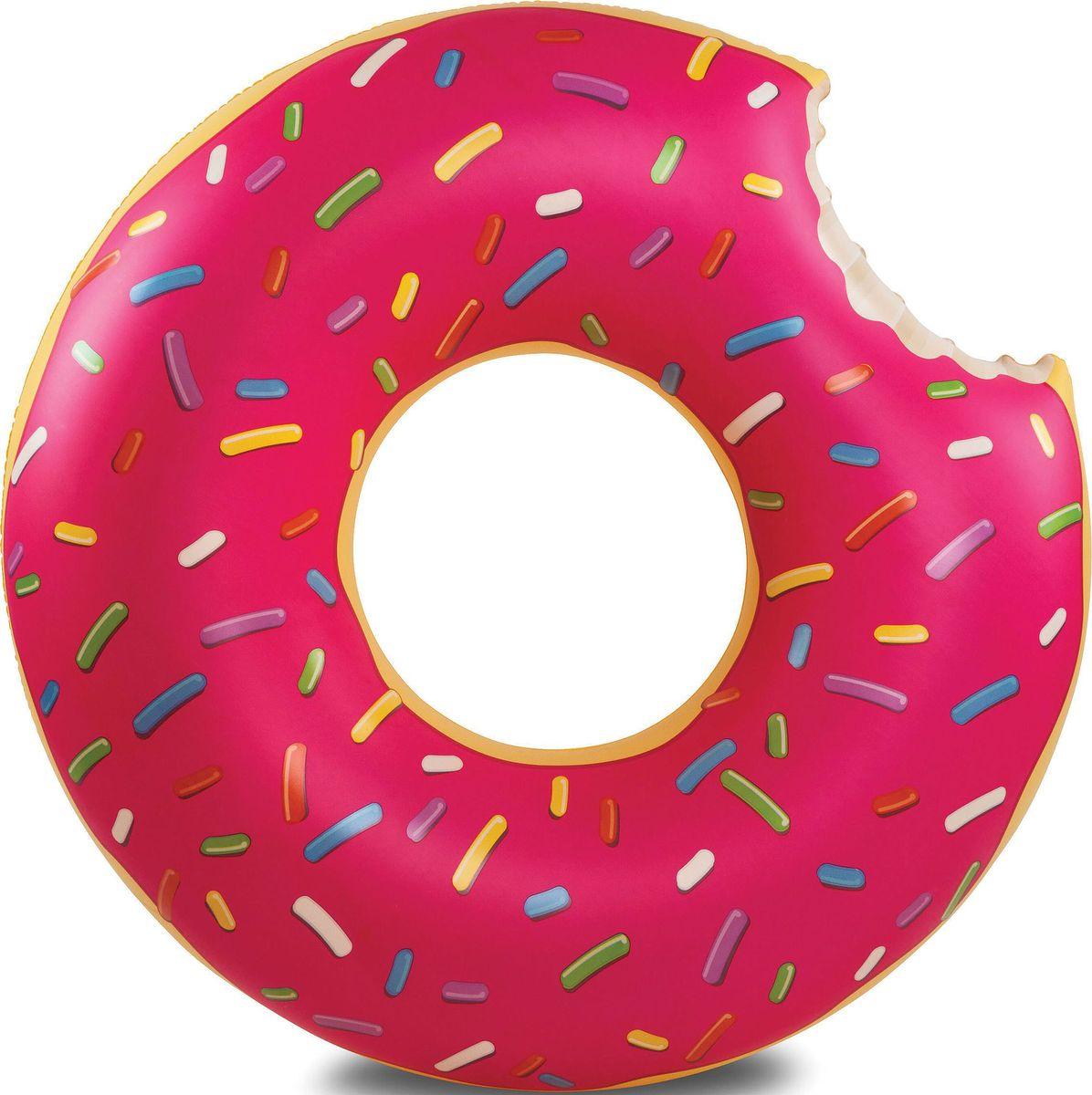 Круг надувной BigMouth  Strawberry Donut  - Игры на открытом воздухе