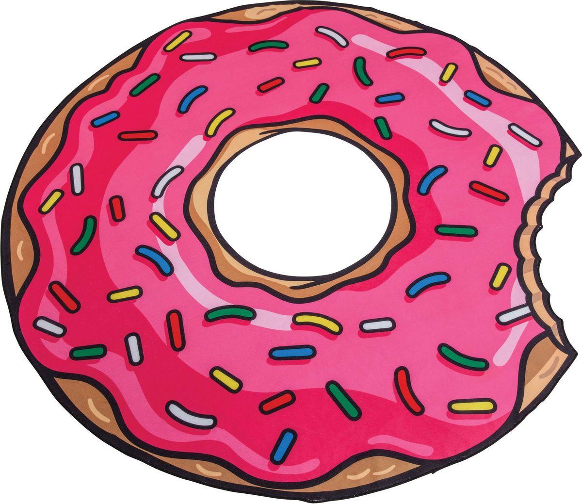 Покрывало пляжное BigMouth Strawberry Donut488615_красный, синийПляжные покрывала Big Mouth отличаются яркими и незаурядными дизайнами, за счет чего сразу приковывают к себе внимание. На них приятно расположиться у моря или бассейна в жаркий летний день и ловить на себе согревающие солнечные лучи. Благодаря тому, что изделия имеют довольно крупные размеры, они прекрасно подходят как для детей, так и для взрослых. Легкий и приятный на ощупь материал подарит максимальный комфорт, а оригинальный окрас подчеркнет вашу индивидуальность. Покрывало можно использовать еще и в качестве пляжного полотенца, ведь тыльная сторона изделия выполнена из мягкой ткани, хорошо впитывающей влагу.