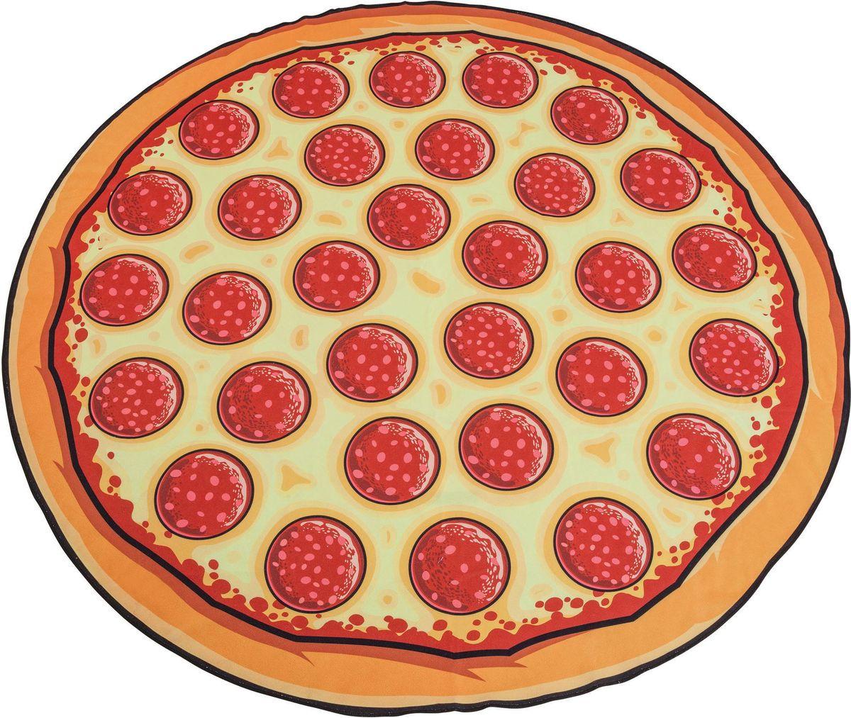Покрывало пляжное BigMouth Pizza81-396_зеленый, цветыПляжные покрывала Big Mouth отличаются яркими и незаурядными дизайнами, за счет чего сразу приковывают к себе внимание. На них приятно расположиться у моря или бассейна в жаркий летний день и ловить на себе согревающие солнечные лучи. Благодаря тому, что изделия имеют довольно крупные размеры, они прекрасно подходят как для детей, так и для взрослых. Легкий и приятный на ощупь материал подарит максимальный комфорт, а оригинальный окрас подчеркнет вашу индивидуальность. Покрывало можно использовать еще и в качестве пляжного полотенца, ведь тыльная сторона изделия выполнена из мягкой ткани, хорошо впитывающей влагу.