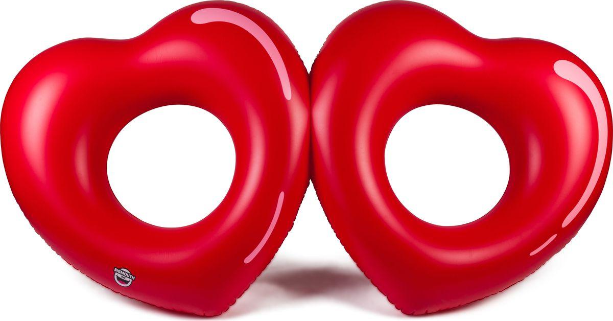 Набор кругов для бассейна BigMouth  Two Hearts is Better then One , 2 шт - Игры на открытом воздухе