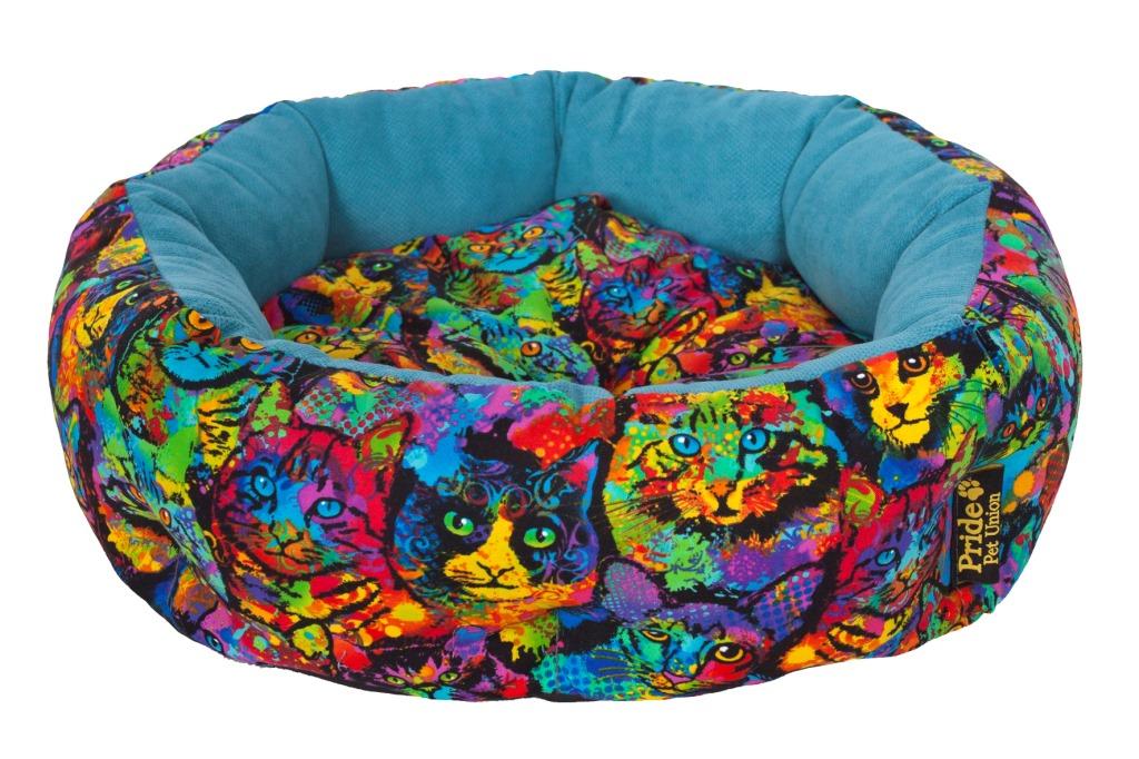 Лежак для животных Pride Мисс Китти, 45 х 45 х 12 см10011240Лежак Pride Мисс Китти непременно станет любимым местом отдыха вашего домашнего животного. Изделие выполнено из полиэстера. Такой материал не теряет своей формы долгое время. На таком лежаке вашему любимцу будет мягко и тепло. Он подарит вашему питомцу ощущение уюта и уединенности.