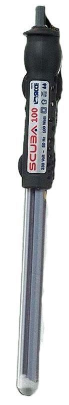 Нагреватель воды Sicce Scuba, 100 Вт, для аквариумов 50-100 л фильтр внешний sicce space eco 100 550 л ч для аквариумов до 100 л