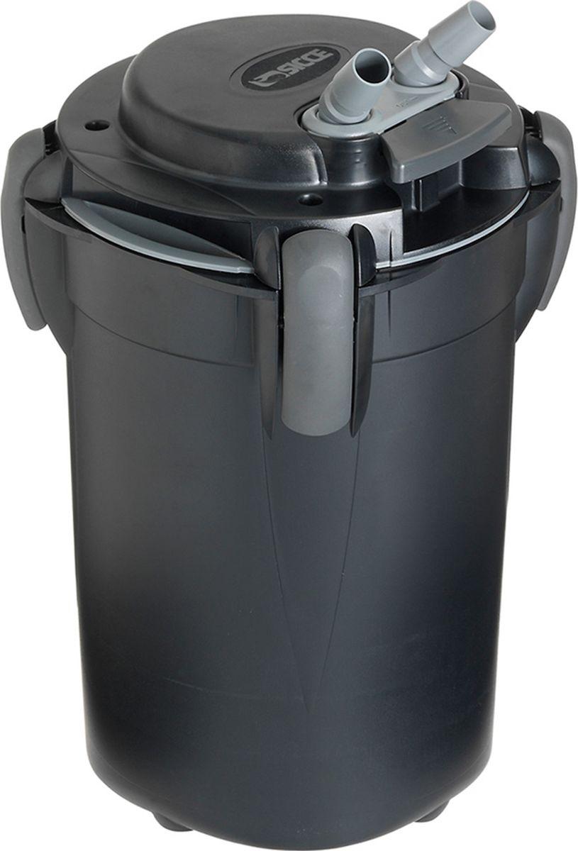 Фильтр внешний Sicce Space Eco + 100, 550 л/ч, для аквариумов до 100 л2519051Фильтр Space Eco +100 обеспечит восхитительную чистоту воды в вашем аквариуме или акватеррариуме, благодаря высококачественным фильтрующим материалам, которыми оснащена каждая корзина фильтра. Новая система самозапуска фильтра имеет практичную конструкцию, никогда не приводит к неудачному запуску фильтра, позволяет запустить фильтр в течение 1 минуты без особых усилий. Удобный контроль потока и регулировка скорости потока на голове фильтра. Фильтр осуществляет механическую, химическую и биологическую фильтрацию. Механическая фильтрация – это специальные губки, которые устраняют микрочастицы грязи, обеспечивая кристально чистую воду и среду, пригодную для биологической и химической фильтрации. Биологическая фильтрация это перевод аммония/аммиака и нитритов (токсичных для рыб) в нитраты. Полезные нитрифицирующие бактерии перерабатывают вредные вещества с использованием кислорода. Механическая и тонкая фильтрация – это фильтрация мелких частиц грязи. Фильтр Space Eco + оснащен энергоэффективным и экономичным насосом, с системой самоочистки и смазки крыльчатки, что гарантирует длительную эксплуатацию фильтра между обслуживаниями. Фильтр прост в установке, оснащён специальными запорными механизмами, которые легко и надёжно фиксируют насос на корпусе фильтра, что позволяет сделать его обслуживание лёгким и быстрым.