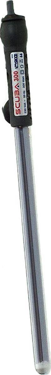 Нагреватель воды Sicce Scuba, 300 Вт, для аквариумов 250-300 л0120710Sicce Scuba - это высокоточный обогреватель, который подходит для морских и пресноводных аквариумов. Обогреватель имеет терморегулятор, позволяющий настроить и регулировать температуру. Световой индикатор покажет вам, когда происходит нагрев воды в аквариуме. Полностью погружаемый обогреватель Scuba сделан в соответствии со всеми международными стандартами безопасности. В стандартную комплектацию обогревателей входят присоски для крепления на стенке аквариума. Долгий срок службы. Безопасен.