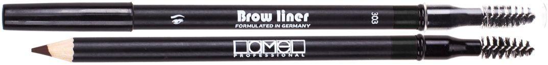 Lamel Professional Карандаш для бровей со щеточкой 303, 1,7 г28032022Карандаш для бровей Lamel – невероятно мягкий карандаш, который не царапает кожу. Бархатная нежная текстура ровно ложится, легко растушевывается, обладает стойкостью и дарит бровям глубокий естественный цвет и выразительность. Интенсивность оттенка зависит от силы нажатия, поэтому карандаш подойдет для создания любого образа. А профессиональная щеточка создает идеальную форму бровей.