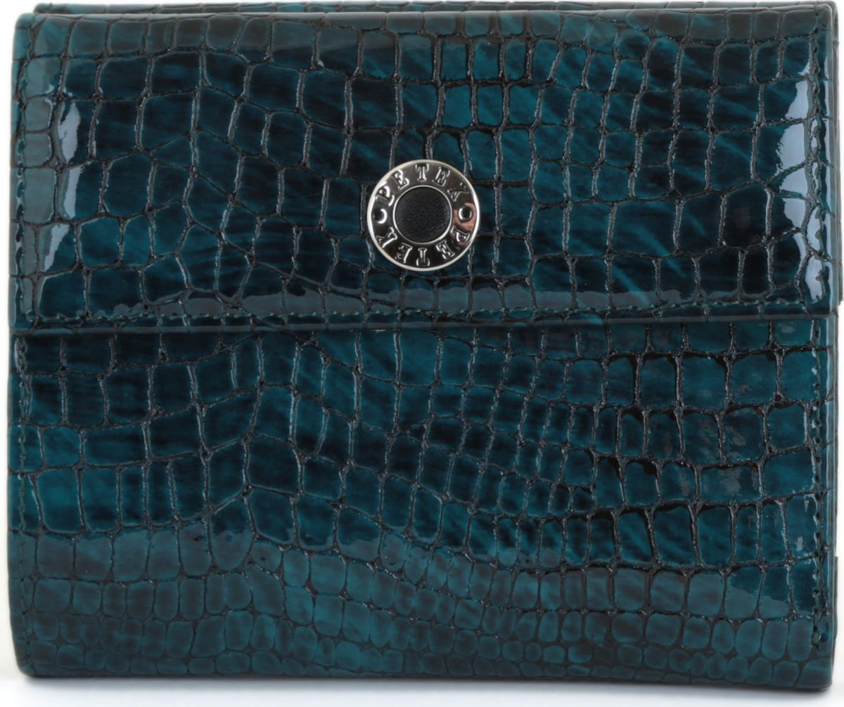 Портмоне женское Petek 335.091.09 GreenINT-06501Портмоне из натуральной кожи. Элегантный и утонченный аксессуар.