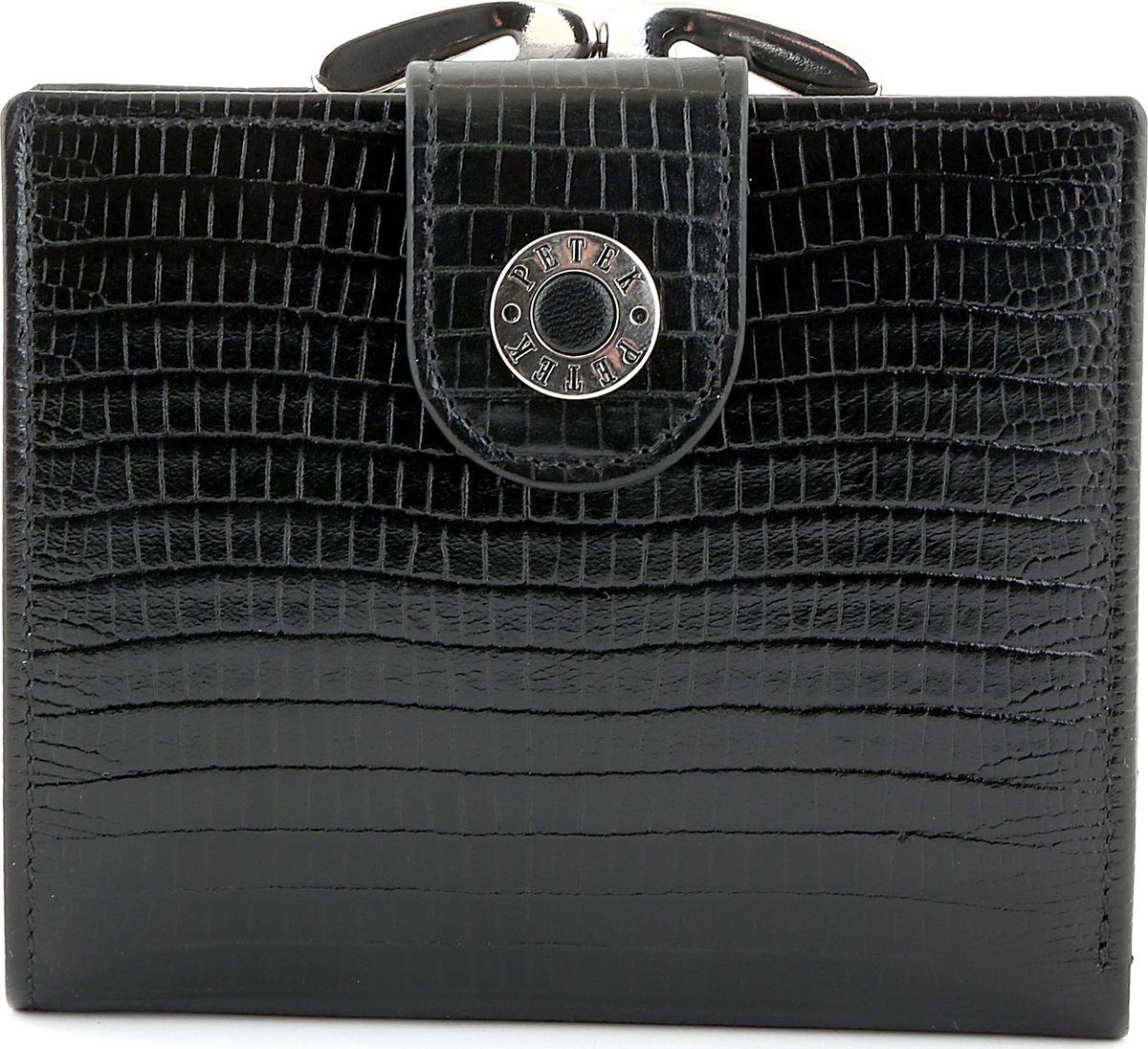 Портмоне женское Petek 336/1.041.01 Black104-5860Портмоне из натуральной кожи. Элегантный и утонченный аксессуар.