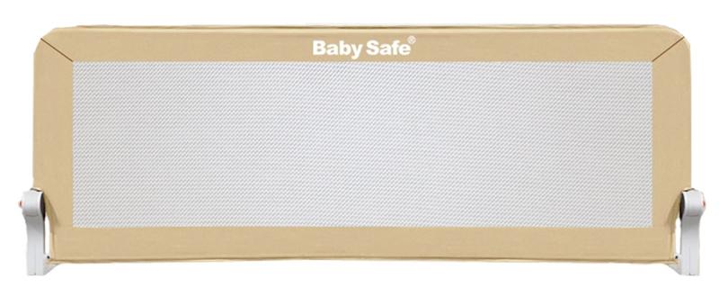 Baby Safe Барьер защитный для кроватки цвет бежевый 120 х 42 см