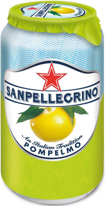 San Pellegrino Напиток сокосодержащий со вкусом грейпфрута, 0,33 л0120710Фруктовый напиток San Pellegrino - знаменитый во всем мире освежающий газированный напиток с соком фруктов, производится с 1930-х годов в Италии. Напиток содержит натуральный сок сочных и спелых сицилийских фруктов, собранных вручную, а низкое содержание углеводов и сахара делает напиток San Pellegrino доступным даже для тех, кто придерживается диеты. Основой для создания напитка служит минеральная вода, баланс между нежными пузырьками иароматом придает напитку неповторимый вкус. Фруктовые напитки San Pellegrino отлично утоляют жажду и являются прекрасным дополнением кежедневным трапезам. Состав: вода, восстановленный грейпфрутовый сок (16%), сахар, диоксид углерода, регулятор кислотности (лимонная кислота), натуральные ароматизаторы.Согретые теплым итальянским солнцем фрукты дарят вам всю свою свежесть и аромат круглый год! 100% натуральные ингредиентыФрукты с острова СицилияОснова – минеральная водаСодержание сока – 16%, выше минимальной нормы, и чем у большинства конкурентовБез красителей иароматизаторовПониженное содержание сахараНатуральный вкус и аромат.Энергетическая ценность 181 kJ/кДж - 42 Kcal/ккал. После вскрытия упаковки хранению не подлежит.