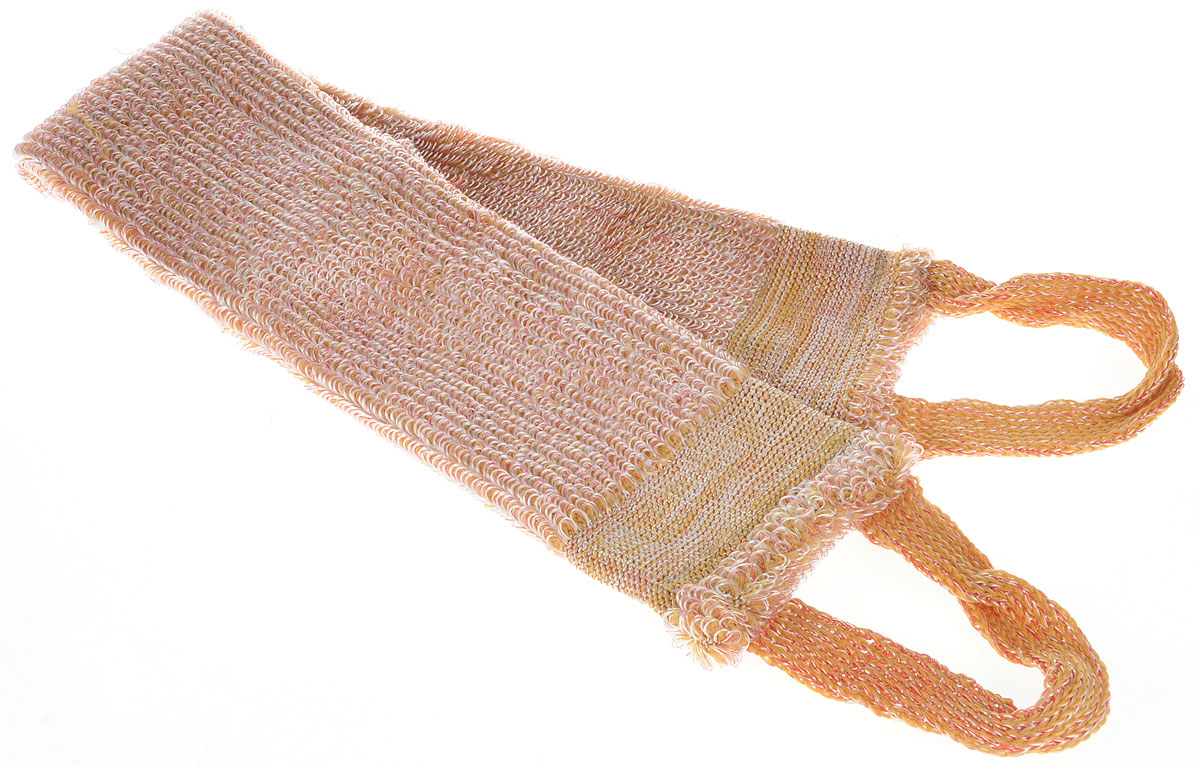 Art DLis Мочалка-букле, средней жесткости, цвет: розовый, горчичный, 70 х 10 см1.7_фиолетовыйМочалка Art DLis позволяет не только глубоко очистить кожу, но и осуществляет массаж. Мочалка эффективно адсорбирует загрязнения и отшелушивает ороговевшие частицы кожи, что способствует омоложению кожи и стимуляции клеточного дыхания. Кожа становится абсолютно чистой, гладкой и обновленной.Структура волокна мочалки позволяет осуществлять не только очищение, но и стимулирующий микроциркуляцию массаж кожи. Такой массаж улучшает кровообращение в подкожных тканях, благодаря чему мочалка подходит для профилактики и борьбы с целлюлитом. Мочалка очень долговечна и быстро сохнет, благодаря чему будет удобна в поездках.Товар сертифицирован.